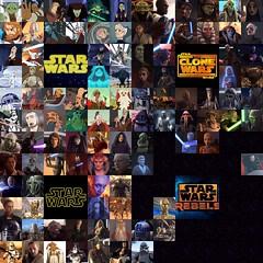 Star Wars Movie - Clone Wars - Rebels Characters (LEGOSAM1234) Tags: starwars rebels starwarsrebels luminaraunduli yoda anakinskywalker macewindu obiwankenobi kiadimundi kitfisto aaylasecura shaakti saessetinn palpatine barrissoffee generalgrievous dooku ventress r2d2 quigonjinn plokoon
