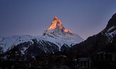 Sunrise at the Matterhorn... (raytech_98) Tags: matterhorn switzerland zermatt sunrise morning nature landscape mountain