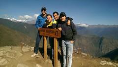 Nice trip to Perú (Arequipa, Cuzco, machu picchu, Lima) and Bolivia (La Paz, Copacabana) (Luis Godoy-Vaca) Tags: machu montaña machupicchu friends ecuadorperú sky top