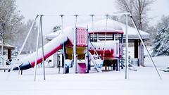 Snowday 04292017-021 (laureanophoto) Tags: snow042017 frozen playground ice freezing snow colorado pentax 18135 storm winter cold