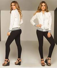 img803 (tiendadelabad) Tags: chaqueta blonda blanco dama mujer femenina tienda abadesa abad ropa