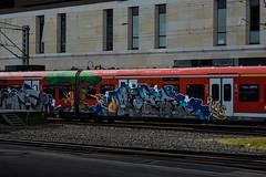 _DSC8752 (Under Color) Tags: hannover graffiti train db zug mainstation hauptbahnhof sbahn strain subway subwayart streetart art kunst vandal vanalismus end2end panel rize pws