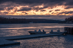 Cold Mooring (johnjmurphyiii) Tags: 06457 clouds connecticut connecticutriver dawn harborpark middletown sky sonyrx100m5 spring sunrise usa johnjmurphyiii cloudsstormssunsetssunrises cloudscape weather nature cloud watching photography photographic photos day theme light dramatic outdoor color colour