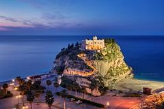 Tropea - Calabria (Bertucci Andrea) Tags: calabria tropea santa maria dellisola italia sud seascape sunset cityscape church landscape city sea beach canon 6d 1635