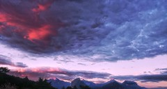 Clouds and peaks (Laurène Sommacal) Tags: laurène isere rhonealpes grenoble france clouds mountains peaks shadows sky pink grey chartreuse alps frenchalps contrast saturation photography panorama panoramic landscape countryside view