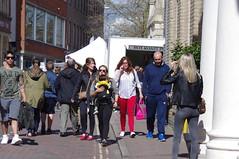 Hot Roast (Bury Gardener) Tags: streetphotography street streetcandids candid candids 2017 peoplewatching people strangers burystedmunds suffolk eastanglia england uk cornhill