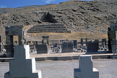 Found Photo - Iran - Persepolis - Archeological Site 14.tif (David Pirmann) Tags: iran ruins archeology persia persian unesco worldheritage xerxes parsa takhtejamshid achaemenid dpfoundphotoasia1976 persepolis