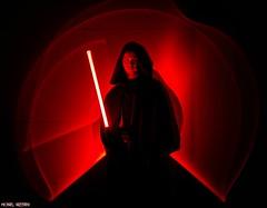 Saber Practice...[Explore] (Ring of Fire Hot Sauce 1) Tags: cosplay starwars jedi lightsaber jmichaeltrautmann wondercon longexposure