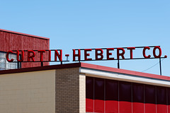 Curtin - Hebert Co. (fotofish64) Tags: sign curtinhebertco red color vividcolor blue advertising americana urban downtown gloversville glovecities mohawkvalley capitalregion newyork outdoor word pentax pentaxart hdpentaxda1685mmlens k70 kmount vintage vintagesign texture pattern