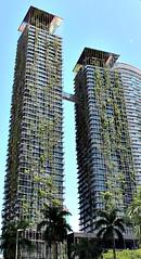 High rise greenery (Peter Denton) Tags: architecture kualalumpur kl malaysia towerblock highrisedevelopment green greenery townplanning ©peterdenton canoneos100d southeastasia city capitalcity