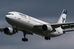 Iran Air / A300 / EP-IBD / EGLL 27L (_Wouter Cooremans) Tags: egll lhr london spotting spotte spotter avgeek aviation airplanespotting heathrow iran air a300 epibd 27l iranair