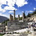 Delphi, The Sacred Way – XX – The Temple Terrace