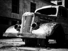 Truck (Flo Guichard) Tags: abandoned decay old urbex urban exploration costa rica travel monochrome blackandwhite black white