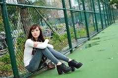 喬喬1021 (Mike (JPG直出~ 這就是我的忍道XD)) Tags: 喬喬 台灣大學 d300 model beauty 外拍 portrait 2013