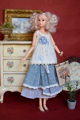 Willow (Girl Least Likely To) Tags: momoko ccs closeclippedsheep todaysmomoko1501 willow curlyhair curls blonde diorama dollscene dollroom dollhouse miniatures asianfashiondolls japanesetoys dolls