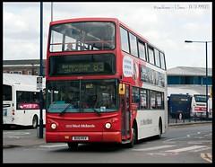 No.83 to Birmingham (zweiblumen) Tags: nationalexpresswestmidlands 83 birmingham capehill westbromwich westmidlands england uk publictransport bus doubledecker bu51rsv 4231 canoneos50d canonef50mmf14usm polariser zweiblumen