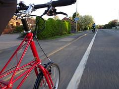 The season (stevenbrandist) Tags: red spaceframe moulton moultonbicyclecompany tsr tsr27 road explore