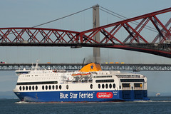Blue Star One (PJ Swan Photography) Tags: blue star one firth forth scotland superfast