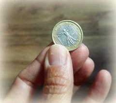Euro (France-♥) Tags: euro one argent money europe main hand italy leonardodavinci humanbody