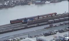 Waterford 8113 + 148 shunting Rosslare set 14oct03 from video (Ernies Railway Archive) Tags: waterfordstation 8113 nir ir ie irishrail
