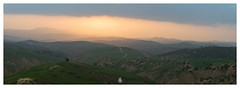 Sidi Lazrag Panorama 2 (faroukbend) Tags: sidi lazrag relizane panorama lightroom photoshop d3200 tripod sunset couche soleil green nature landscape mountains enhance