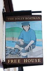 The Jolly Boatman pub sign Newhaven East Sussex UK (davidseall) Tags: the jolly boatman pub pubs sign signs inn tavern bar public house houses newhaven east sussex uk gb british english