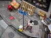 The Toilet Paper Run (Feldore) Tags: hong kong street candid above hongkong shopping birds eye viewpoint woman stripy toilet paper feldore mchugh em1 olympus 1240mm funny