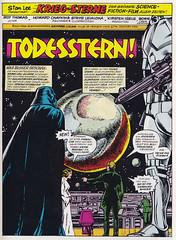 Krieg der Sterne / Sammelband / Seite 41 (micky the pixel) Tags: comics comic heft sammelband sf scifi sciencefiction film movie adaption marvel howardchaykin kriegdersterne starwars todesstern