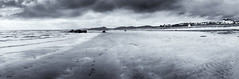 Seamill (ianmiddleton1) Tags: seamill ayrshire monochrome panorama hdr