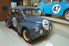 Probably the cutest race car of all time (Ronald_H) Tags: musée des 24 heures du mans muséedes24heuresdumans le car racing film 2017 holiday france renault 4cv race museum