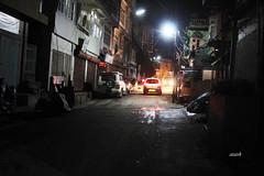 Aizawl Street in night time (azara ralte) Tags: aizawl mizoram khatla chawngaroad zoram northeastindia nighttime night zan aizawlstreet kawtthler zanboruak landscape street road
