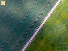 DJI_0038-2 (michab100) Tags: mib michab100 mibfoto luftaufnahmen luftbild dji phantom aerial schwäbischealb heroldstatt landscape landschaft texture muster strasse street green spuren raps löwenzahn