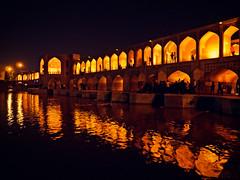 Khaju Bridge in Isfahan, Iran (CamelKW) Tags: 2017 abyana iran isfahan kashan khajubridge