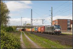 22-04-17 DB Cargo 193 877 + Containertrein, Hamburg Waltershof (Julian de Bondt) Tags: db vectron siemens containerzug containertrein waltershof hamburg cargo