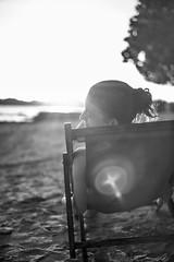 Chillout (mripp) Tags: night nacht art kunst black white chilled chill out relax hängematte hammok holiday party talking talk sun sunny sunbathing beach strand ocean liegestuhl