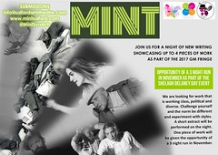 Writers submit now @MintScratch 19 July @SalfordArts @GMFringe www.mintsalford.com more details www.greatermanchesterfringe.co.uk (gmfringe) Tags: mint salfordartstheatre newwriters opportunity showcase shelaghdelaneyday contemporary modern dramaevent scratch manchester greatermanchesterfringe gmfringe england uk britain stage performance events entertainment what'son actors drama theatre july 2017 lancashire festival variety comedy newwriting