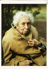 AAW RR 800 from MichelleW - Eudora Welty by Annie Leibovitz (poppy cocteau) Tags: woman postcard oldwoman annieleibovitz eudorawelty