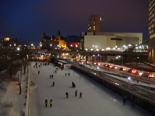 Rideau Canal at Night - 3