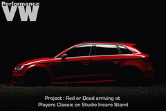 Project : Red or Dead Coming Soon (NWVT.co.uk) Tags: light red vw project studio dead photography ride or painted air performance company incar a3 pearl forge audi motorsport airlift 8v redefined misano sportback pvw nwvt