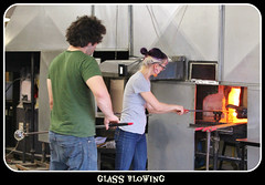 Glass Bowing! (bigbrowneyez) Tags: people ontario canada hot art fun interesting craft artful interesante clever kemptville talented glassblowing bello vigilantphotographersunite