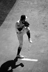 Sergio Romo Warming Up #8 (robhartung) Tags: sanfrancisco grass sport baseball dirt glove giants pitcher 54 mitt sergioromo canonrebelxsi
