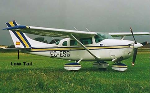 Photo - Plane Type: Low Tail
