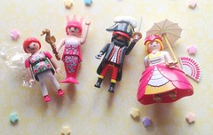 Playmobil (Hazel) Tags: cute vintage toys kei princess fairy 80s pirate kawaii mermaid figures 90s playmobil
