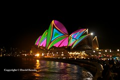 Vivid Sydney 2013 786 (David Kemlo) Tags: art festival night lights idea colours sydney vivid australia festivaloflight event nighttime lasers nsw colourful operahouse attraction lightfestival 2013 vividsydney nikond5000 sydneyharbourforeshore lightattraction canvasoflight spectacularlightdisplay cdavidkemlo