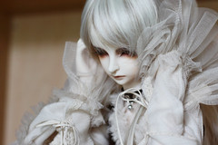 too much noise (buboplague) Tags: white ball doll dolls bjd dim joint danbi