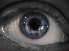 Her Eyes. (SFGauthier.com) Tags: travel blue sea bw macro love beauty lost eyes ngc olympus sight em5
