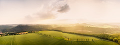 Lilienstein Westaussicht (Philipp Götze) Tags: sunset west landscape sonnenuntergang sommer landschaft lilienstein nachmittag westaussicht