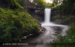 Minnehaha Falls (Altamish Osman Photography) Tags: minnesota nikon long exposure minneapolis falls serene minnehaha 1835 d600