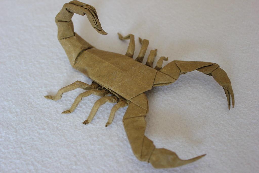 Scorpion Varileg Robert Lang Ivozanon Tags Origami