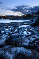 Moonscape on Earth (Rodney Campbell) Tags: ocean sunset sky seascape water australia newsouthwales cpl tamarama gnd09